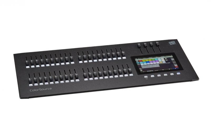 ColorSource 40 Control Desk40 Faders 80 Channels