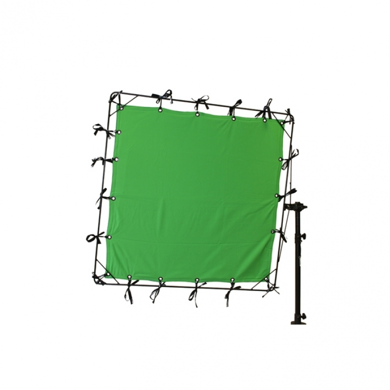 BUTTERFLY CHROMA KEY GREEN 174X174M6X6