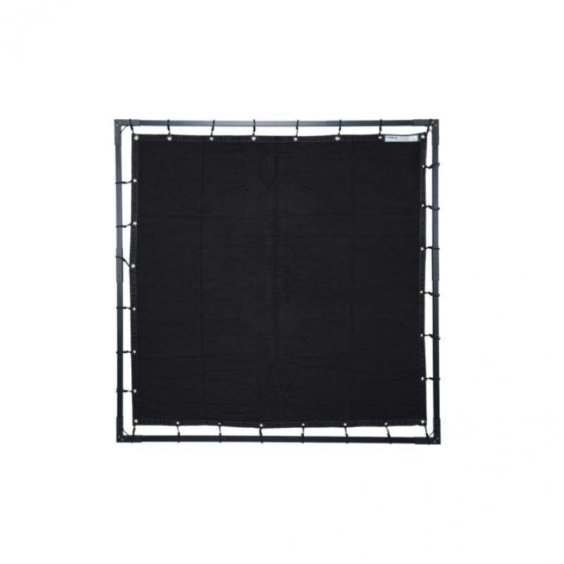 BUTTERFLY MOLTON BLACK 112X112M 4X4