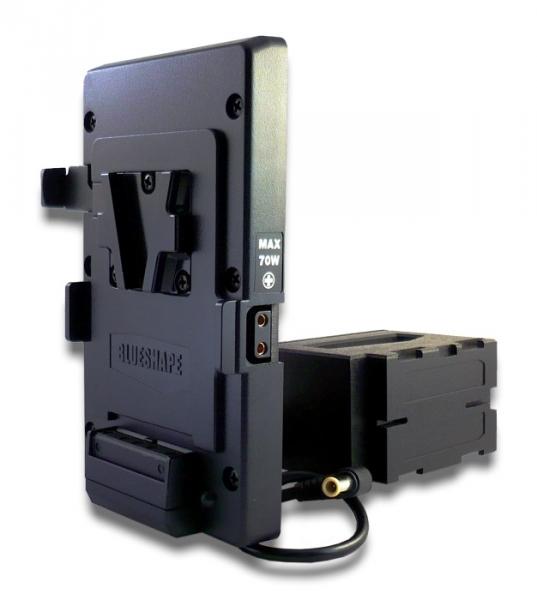 Blueshape Batteria adattatore Vlock per SONY EX1R
