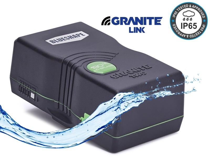 Blueshape Batteria SPLASH Vlock LiIon 190Wh IP65