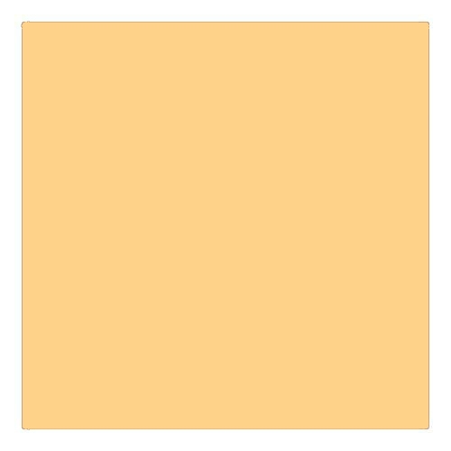 EColour 009 Pale Amber Gold Roll