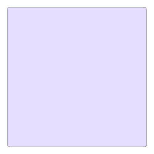 EColour 053 Pale Lavender Roll