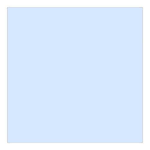 EColour 061 Mist Blue Roll