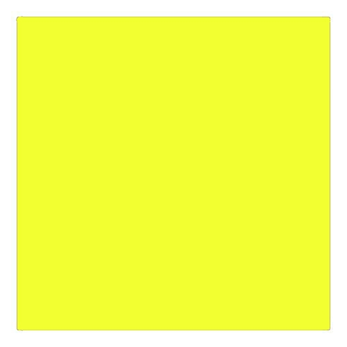 EColour 100 Spring Yellow Roll