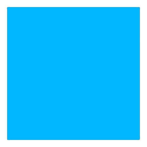 EColour 118 Light Blue Roll
