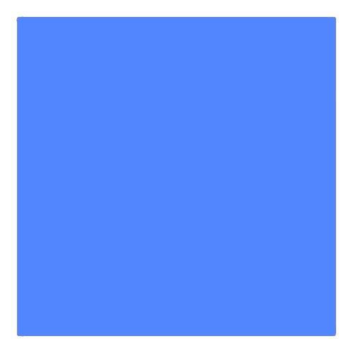 EColour 132 Medium Blue Roll