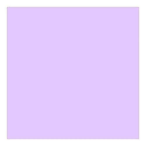 EColour 136 Pale Lavender Roll