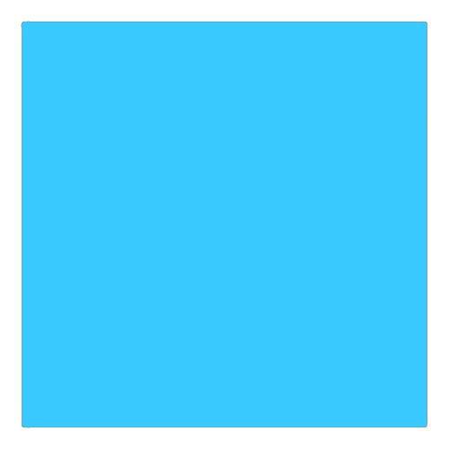 EColour 140 Summer Blue Roll