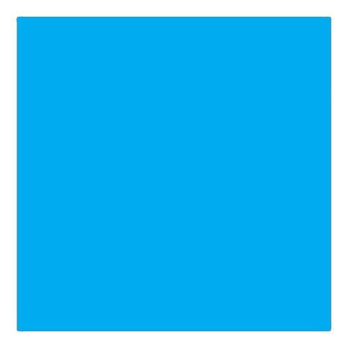 EColour 141 Bright Blue Roll