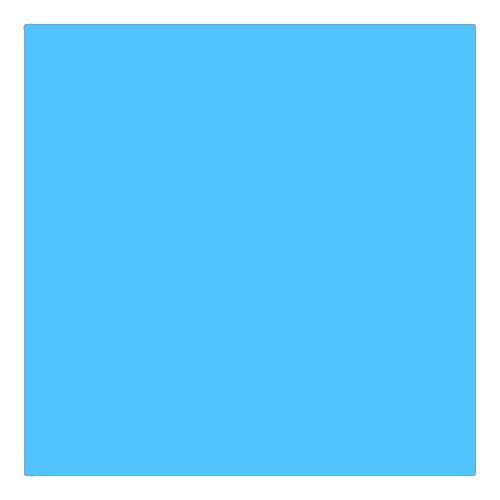 EColour 144 No Colour Blue Roll