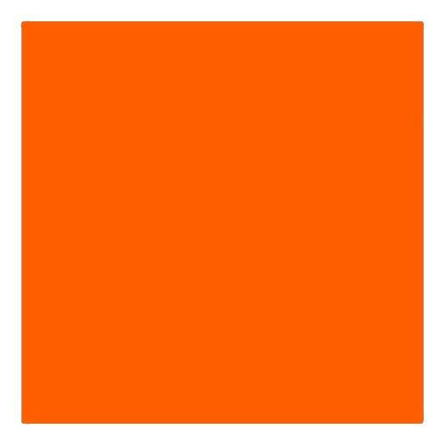 EColour 158 Deep Orange Roll